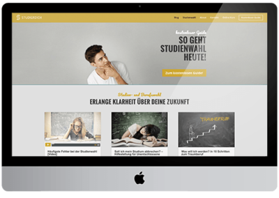 Studierdich – Website