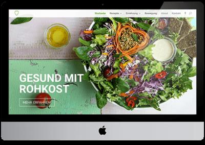 Deine Ernährung – Website