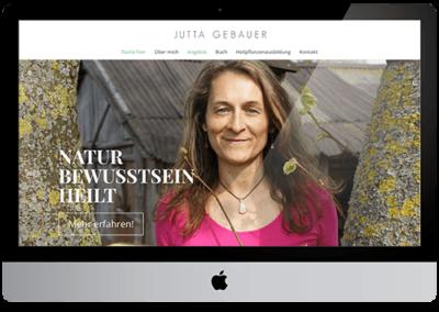 Jutta Gebauer – Website